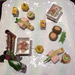 びわこ緑水亭 - 季節の七種盛り
