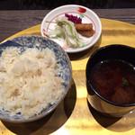 びわこ緑水亭 - 貝柱御飯