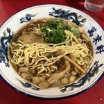 萬來軒 - 平打ち縮れ中太麺