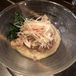 多ら福 亜紗 - 鯨とネギの酢味噌和え