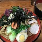 なにや - つけ麺(五色麺)