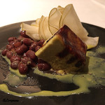 アルチェントロ - 小豆とピスタチオのカタナーラ