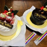 デカダンス ドュ ショコラ - クリスマスケーキ