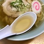 らーめん大金 - スープ