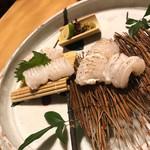 博多 表邸 - 料理写真:穴子の炙り刺し
