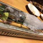 博多 表邸 - 料理写真:イカの踊り造り