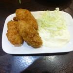 七津屋 - 牡蠣フライ