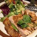 くはら - 地養鶏のステーキ