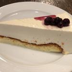 珈琲店トップ - 自家製レアチーズケーキ