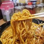 横浜家系ラーメン 町田商店 - 麺のかたさ、普通でも、結構かためですよ~