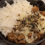 キャンプエクスプレス - ジャガイモと豚肉の欧風チーズカレー 2辛  990円+40円