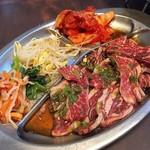 和牛焼肉 漢江 - サービスカルビランチ