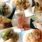 昼呑み処 酒恋 - 一部ですが…ある日のお惣菜(各200円)と日本酒(300円)です♪