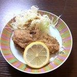 とと庵 - 料理写真:何か忘れた魚のフライ