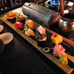 Nanairotemariuta - てまり寿司