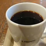 99392130 - コーヒーはビター感が強く、甘いフレンチトーストには合いますね