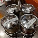 カオマンガイキッチン - 【2018/12】4種の卓上タレ