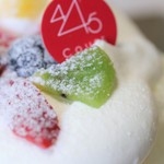 クールドゥパティスリーヨンヨンゴ - 料理写真:トライアル風ショートケーキ