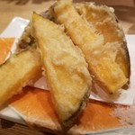 かまわん - 安納芋の天ぷら