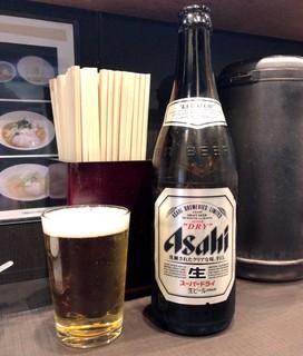 麺屋りゅう - 瓶ビール