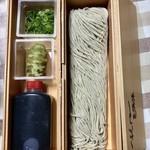 そば処 とき - 年越そば(ざるそば) ¥1500(税込)