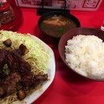 來來憲 - とんてき定食    1950円
