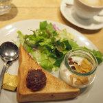 マカロニ - モーニング小倉トースト