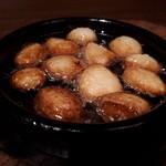 99399940 - 青森県産にんにく焼き わぉっ、ぽっくぽくで美味しいにんにくや(*´∇`)ノ