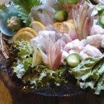 ひろ乃 - 料理写真:地魚活き造り 活き造りのコース ¥3150より