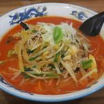 黄金 - 料理写真:赤タンメン750円