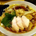 むぎとオリーブ - 鶏・煮干・蛤のトリプルSOBA