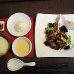 中国料理 桂花 - お昼のミニ会席 1,500円(税込)。      2018.12.29