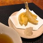 横濱深夜食堂 - きすの天ぷら(450円)(税込)