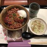 99404308 - 鶏つくね丼 ¥1,000-