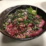 まるいち食堂 - 二色丼1800円