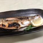 まるいち食堂 - 鯖塩焼き750円