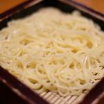 沙伽羅 - 三色もり 1300円 の柚子切り蕎麦
