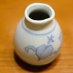 沙伽羅 - 三色もり 1300円 のつゆ