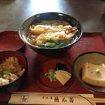 権太呂 - 天ぷらそばご膳