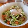 スナヤマカフェ - 料理写真:宮古牛タコライス温玉のせ