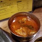 SPICY CURRY 魯珈 - ラムカレー(ビンダル風)のぷちカレー