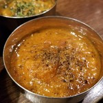 SPICY CURRY 魯珈 - 限定カレー 麻婆豆腐咖喱~kiwami~のろかプレート+魯珈チキンカレーのぷちカレー