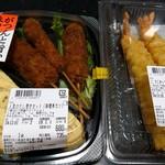 デリカスイト - 料理写真:人気のだし巻きセット(680円+税)、こだわり海老天の大(796円+税)
