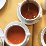 99411954 - ラッサム、冷たいトマトスープ