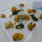 ウニ専門 unico-co - ウニの食べ比べ12種