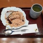 99415354 - 久寿餅とお茶
