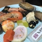 祇園 岩元 - ちょこちょこっと摘まみました(2019.1.1)