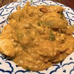 ソムタム - プーパッポンカリー(渡り蟹のカレー炒め)