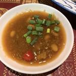 ソムタム - カオマンガイ(ゆで鶏のタイ風チキンライス)のタレ