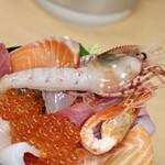 海鮮処 魚屋の台所 - ボタンエビ